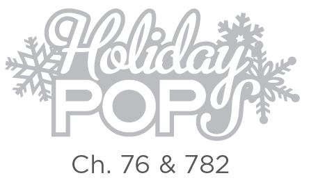 Holiday Pops will feature classical Christmas carols and holiday favorites performed by the greatest classical artists